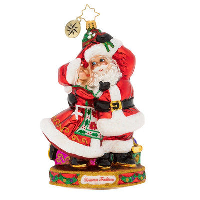 Christopher Radko Dance The Night Away! Christmas Ornament