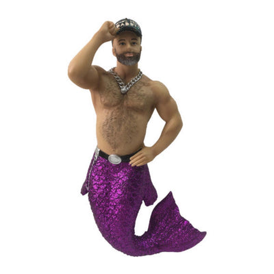 December Diamonds Merman Ornament - Who's Your Daddy