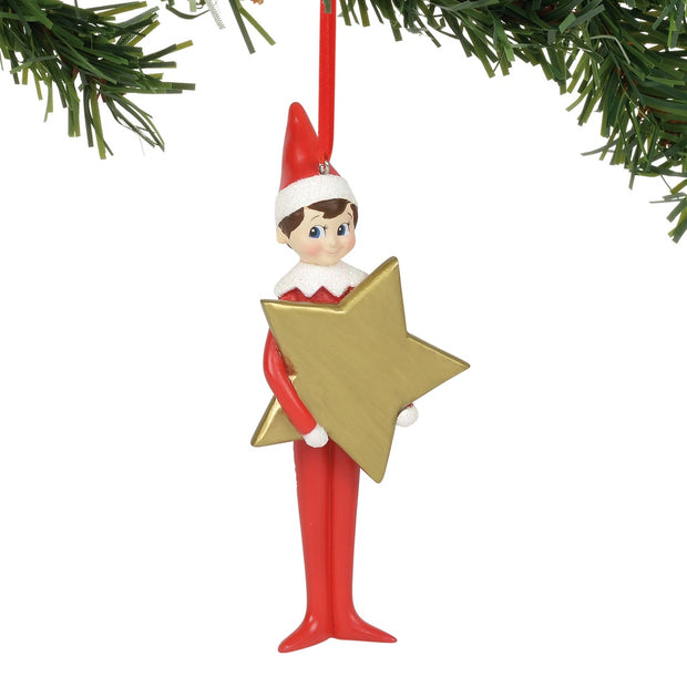 Elf On The Shelf Star Personalizable Ornament