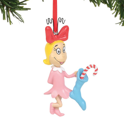 Grinch Cindy Lou-Who Ornament
