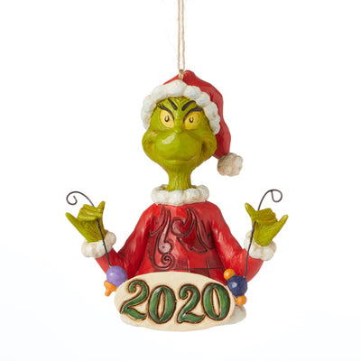 Jim Shore Grinch 2020 Dated Ornament