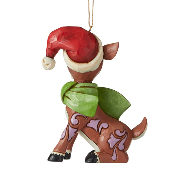 Jim Shore 2020 Rudolph Dated Ornament