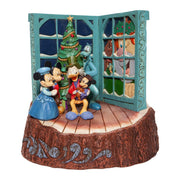 Jim Shore Disney Traditions Mickey's Christmas Carol Figurine