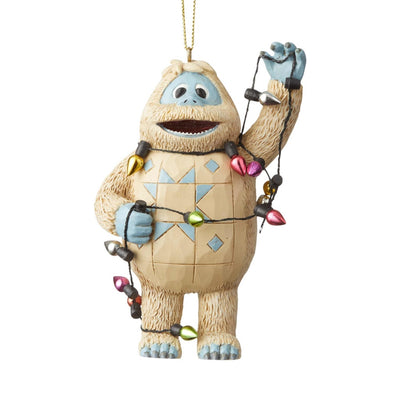 Jim Shore Bumble Wrapped In Lights Ornament