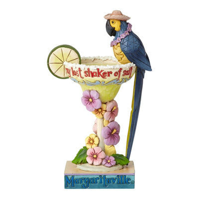Jim Shore Margaritaville Parrot Figurine