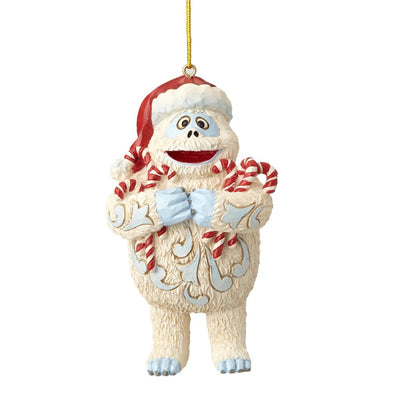 Jim Shore Bumble Holding Candy Canes Ornament