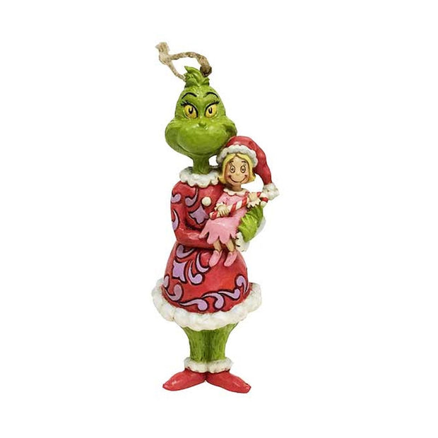 Jim Shore Grinch & Cindy Lou Ornament