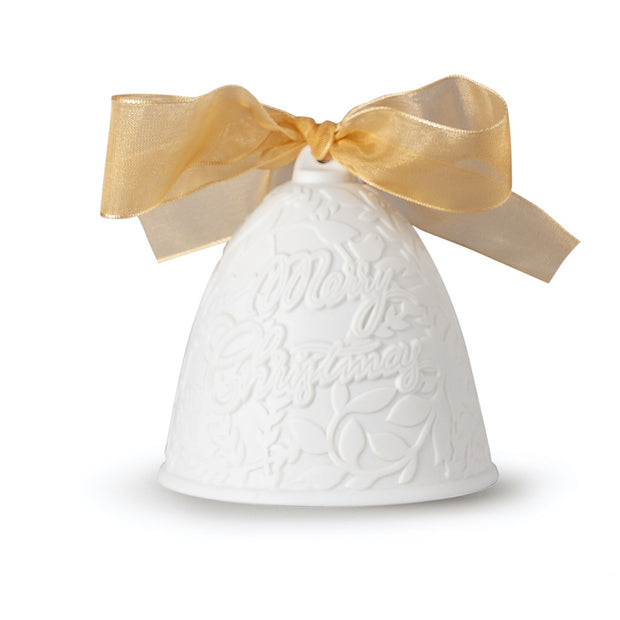Lladro 2020 Bell Christmas Ornament (Gold-Re-Deco)