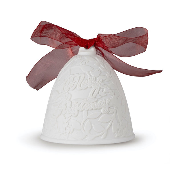 Lladro 2020 Bell Christmas Ornament (Red Re-Deco)
