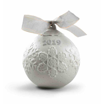 Lladro 2019 Ball Christmas Ornament