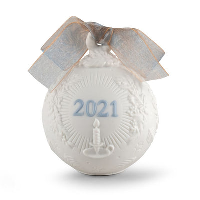 Lladro 2021 Ball Christmas Ornament