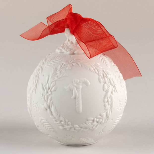 Lladro 2021 Ball Christmas Ornament (Red Re-Deco)