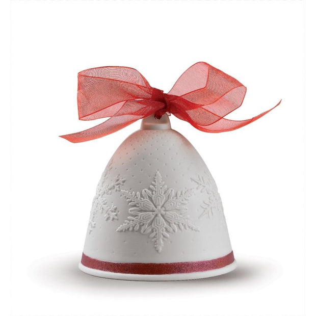 Lladro 2019 Bell Christmas Ornament (Red Re-Deco)