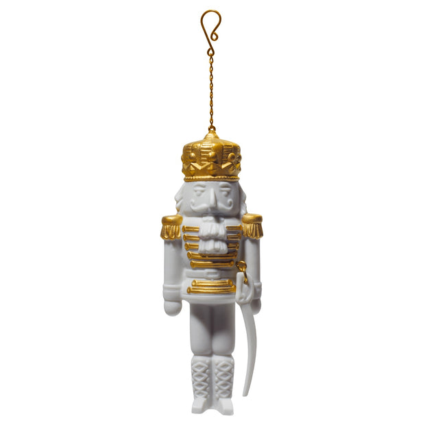 Lladro Nutcracker Christmas Ornament
