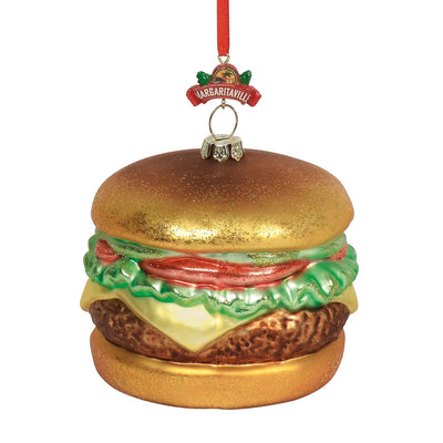 Margaritaville Cheeseburger In Paradise Ornament