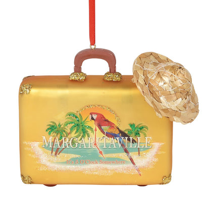 Margaritaville Suitcase Ornament