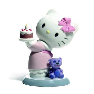 Nao by Lladro Happy Birthday! Hello Kitty Figurine