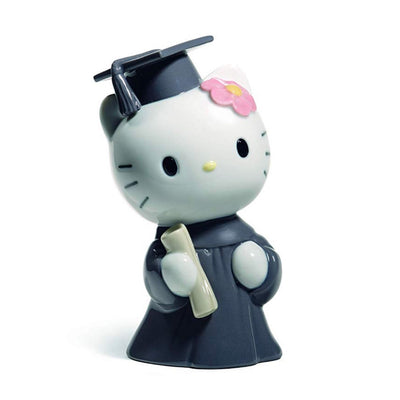 Nao by Lladro Hello Kitty Graduation Day Figurine
