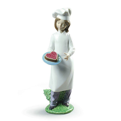Nao by Lladro My Delicious Cake Figurine