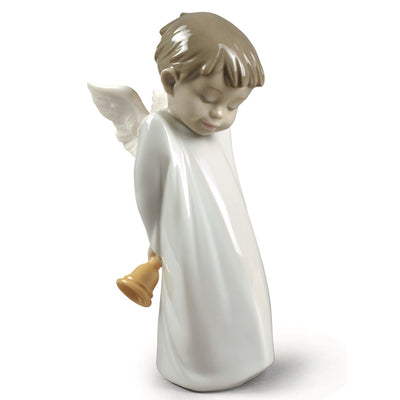 Nao by Lladro Shy Little Angel Figurine