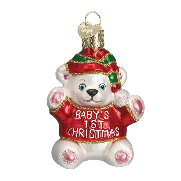 Old World Christmas Baby's 1st Christmas Ornament