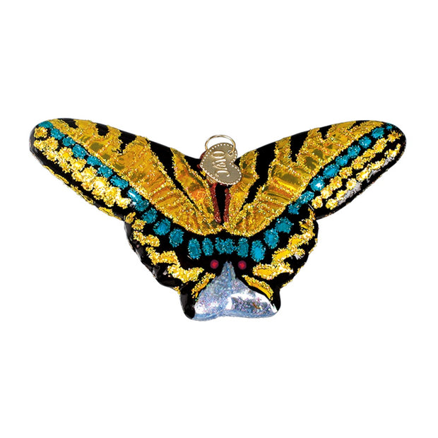 Old World Christmas Swallowtail Butterfly Ornament
