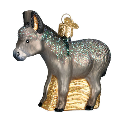 Old World Christmas Donkey Ornament