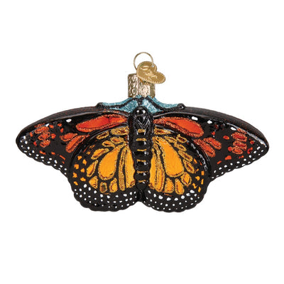 Old World Christmas Monarch Butterfly Ornament