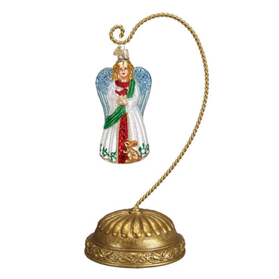 Old World Christmas Musical Rotating Pedestal Ornament Stand
