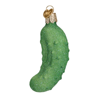 Old World Christmas Glistening Pickle Ornament