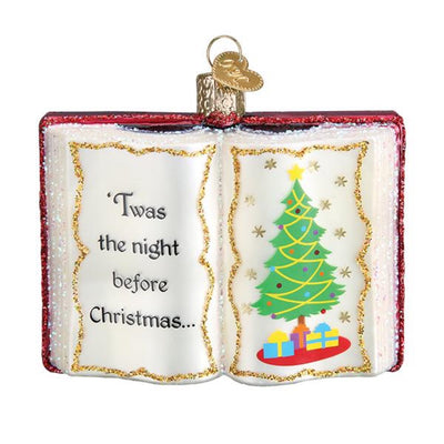 Old World Christmas The Night Before Christmas Ornament