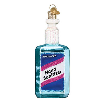 Old World Christmas Hand Sanitizer Ornament