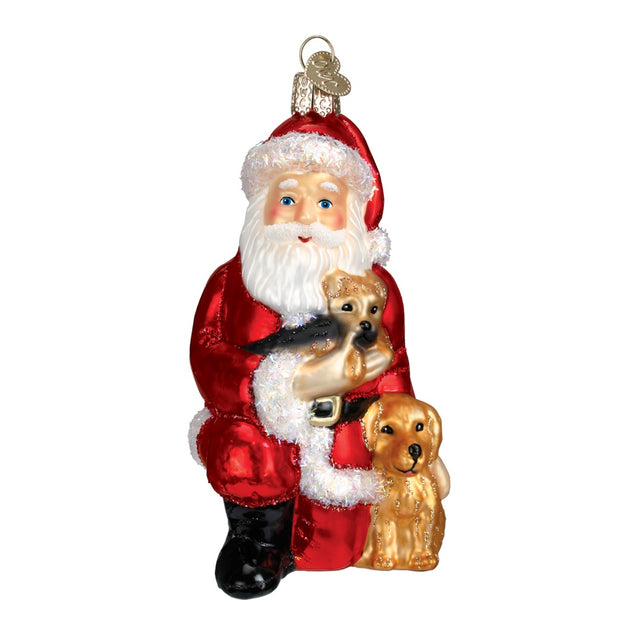 Old World Christmas Santa's Best Friends Ornament