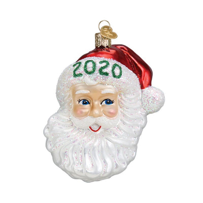 Old World Christmas 2020 Nostalgic Santa Dated Ornament