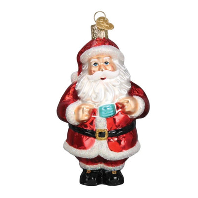Old World Christmas Santa Revealed Ornament