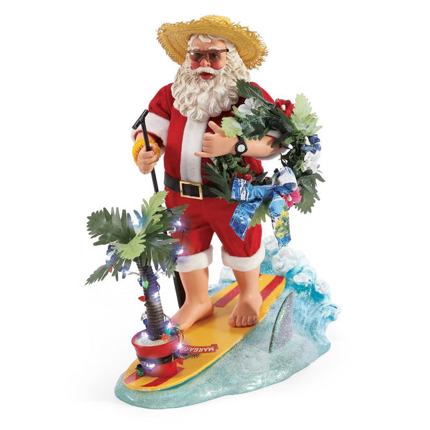 Possible Dreams Clothtique YOLO Santa Figurine