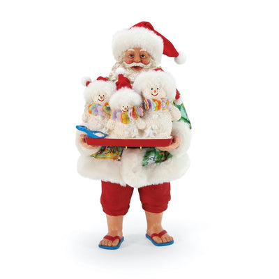Possible Dreams Clothtique Sandy Clauses Santa Figurine