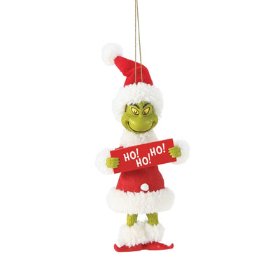 Possible Dreams Clothtique Ho! Ho! Ho! Grinch Ornament