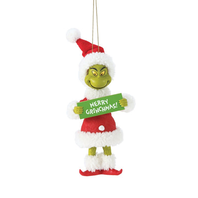 Possible Dreams Clothtique Merry Grinchmas Grinch Ornament