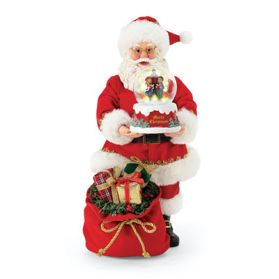 Possible Dreams Clothtique Christmas Carol Santa Figurine