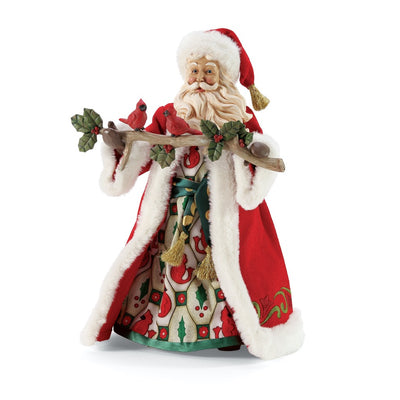 Possible Dreams Clothtique Jim Shore Merry Together Santa Figurine