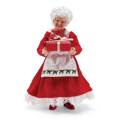 Possible Dreams Clothtique Mrs. Claus Figurine