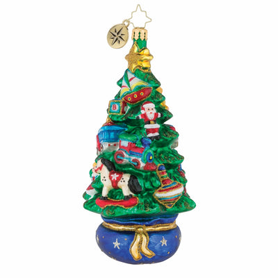 Christopher Radko Treetop Toys Christmas Ornament