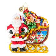 Christopher Radko Home Is Where The Sled Is Christmas Ornament