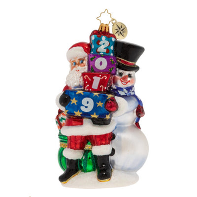 Christopher Radko 2019 Winter Friends Christmas Ornament