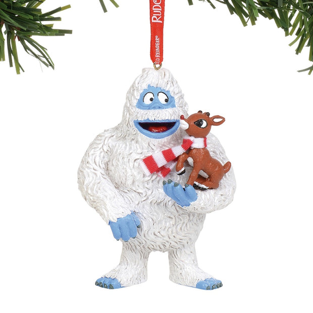 Rudolph The Red-Nosed Reindeer Bumble With Rudolph Ornament