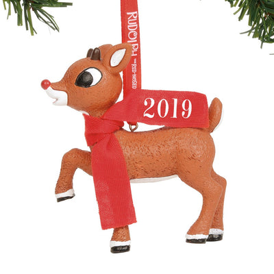 Rudolph The Red-Nosed Reindeer 2019 Dated Ornament