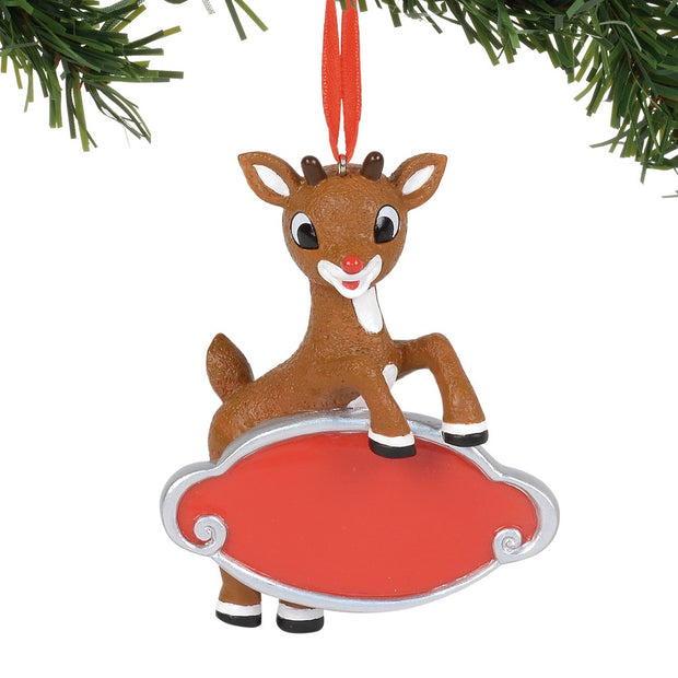 Rudolph The Red-Nosed Reindeer Personalizable Ornament