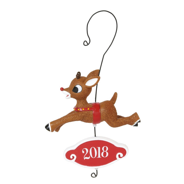 Rudolph The Red-Nosed Reindeer 2018 Dated Ornament