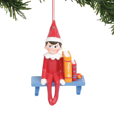 Elf On The Shelf 2019 Dated Ornament